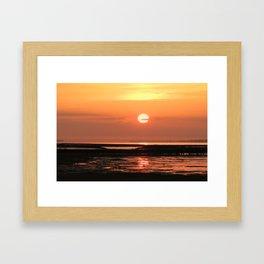 Feelings on the sea, Framed Art Print