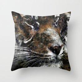 Majestic Tiger Throw Pillow