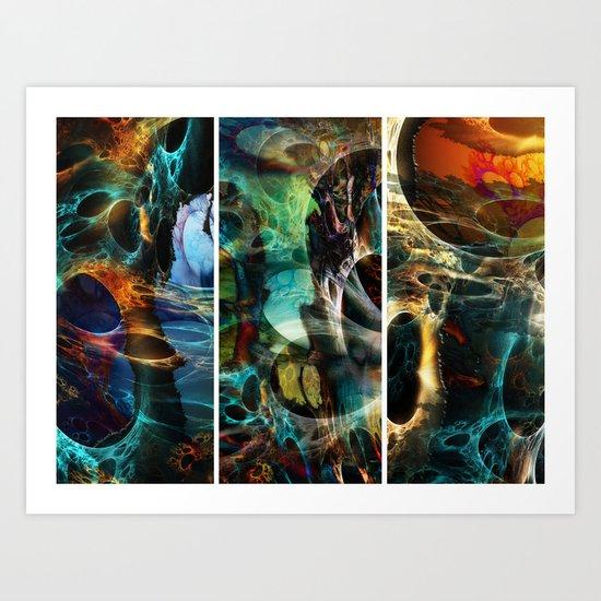 Diver's Dream Art Print