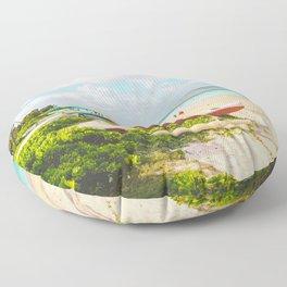 Lanikai Beach Floor Pillow
