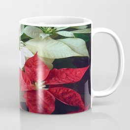 Mixed Color Poinsettias 2 Coffee Mug