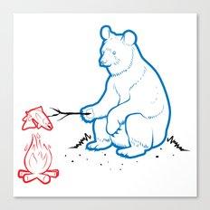 Da Bears - Camping Canvas Print