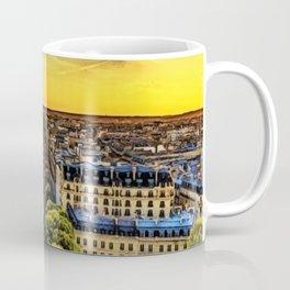 Eiffel Tower Paris City Landscape Coffee Mug