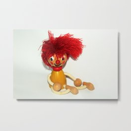 hairy doll Metal Print