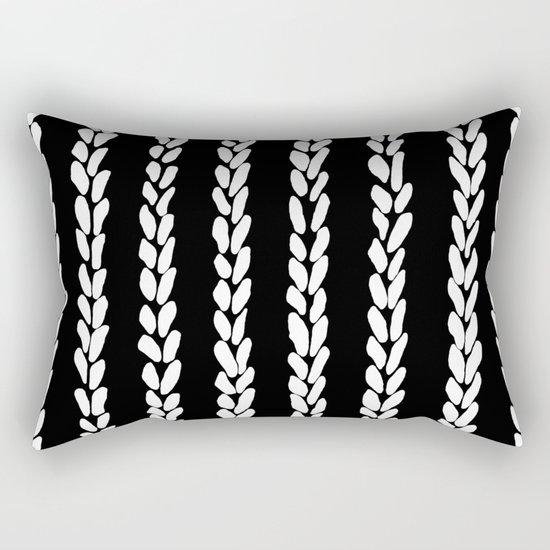 Knit 8 Rectangular Pillow