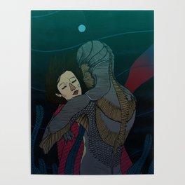 Fluid love Poster