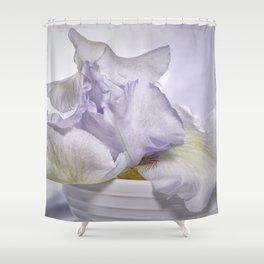 Iris Series III Shower Curtain