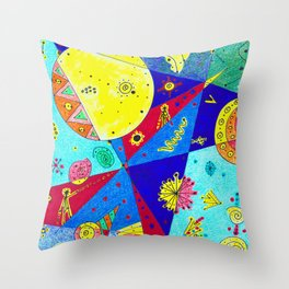 Intersecting Universes Throw Pillow