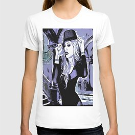 Purple Chic Comic T-shirt
