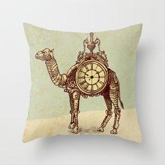 Desert Time Throw Pillow