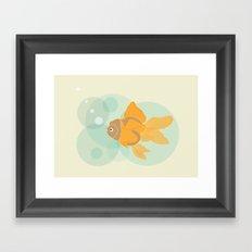 Golden Fish - 2016 Framed Art Print