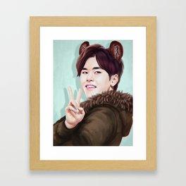 Hobear Framed Art Print