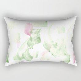 180515 Abstract WP 2   Watercolor Brush Strokes Rectangular Pillow