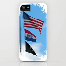 Iron County Flags iPhone Case