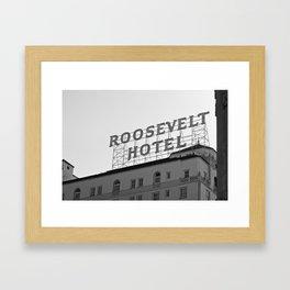 The Roosevelt Framed Art Print