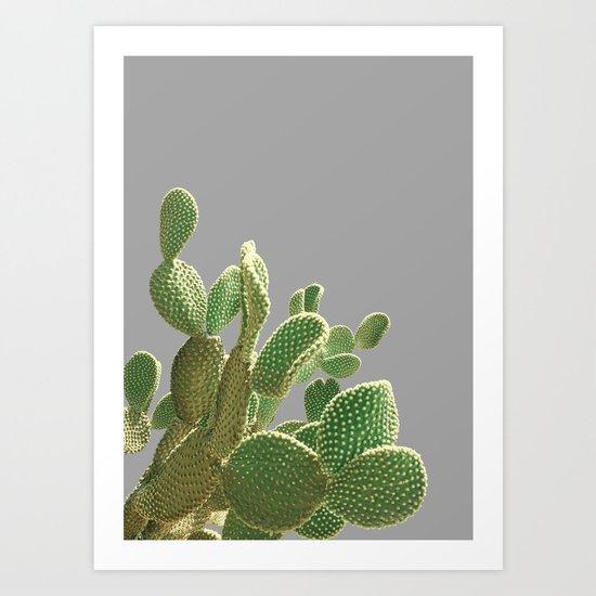 Minimal Cactus Art Print