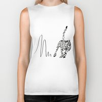 cheetah Biker Tanks featuring Cheetah by Cole Design