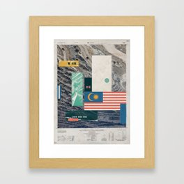 Nothing Here But Love For You Framed Art Print