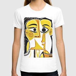 12,000pixel-500dpi - Pablo Picasso - Stylized Portrait of Jacqueline - Digital Remastered Edition T-shirt