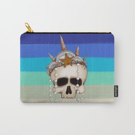Mermaid Skull Carry-All Pouch