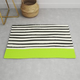 Electric Pineapple x Stripes Rug