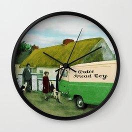 Buns on Tuesday Wall Clock
