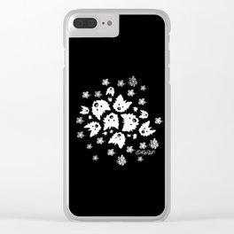 KiniArt Westie Bouquets Clear iPhone Case