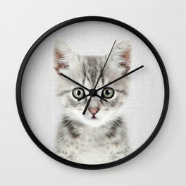 Kitten - Colorful Wall Clock