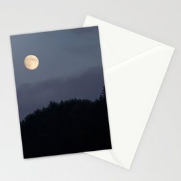 Moon over Hill #nature #buyartprints #minimalism #society6 Stationery Cards
