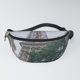 France Photography - Eiffel Tower Seen From Between Two Buildings Fanny Pack