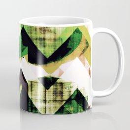 graphic design art, abstract geometric print, abstract wall art, chevron, chevron abstract Coffee Mug