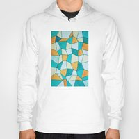 square Hoodies featuring Square by sinonelineman