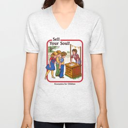 SELL YOUR SOUL Unisex V-Neck