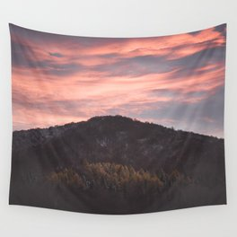 Autumn sky - Landscape and Nature Photography Wall Tapestry