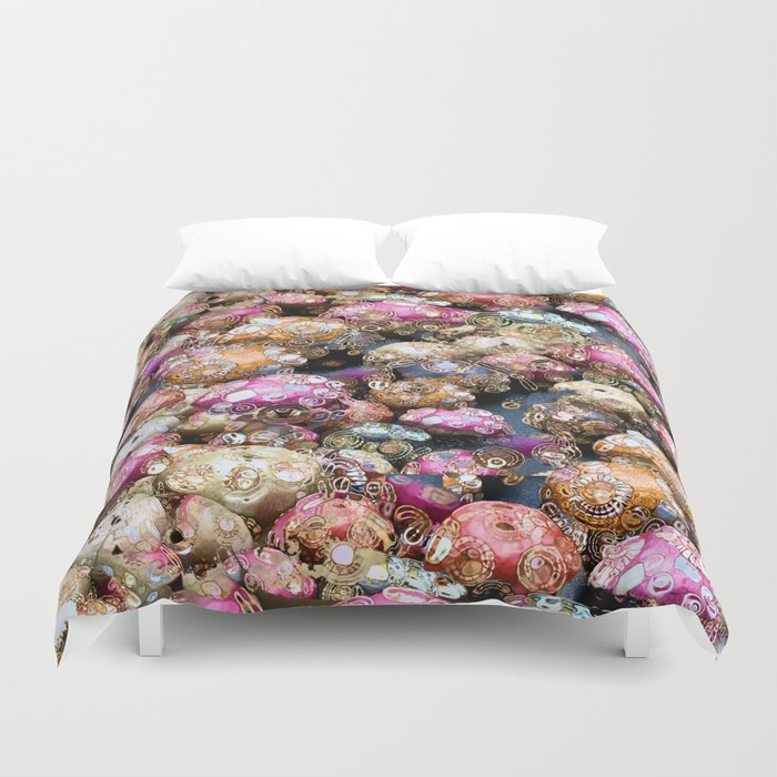 Party All Night Duvet Cover