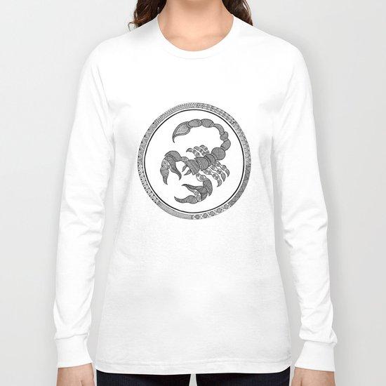 Zodiac Sign Scorpio Long Sleeve T-shirt