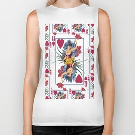 Queen of Hearts Biker Tank