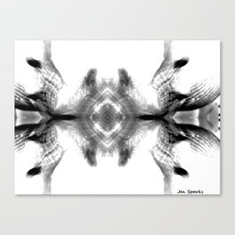 Shell Shocked Canvas Print