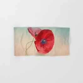 Poppies vintage(5) Hand & Bath Towel