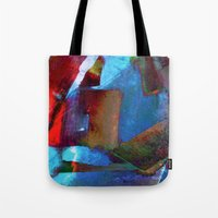 architect Tote Bags featuring Architect Heart by SuzyQ