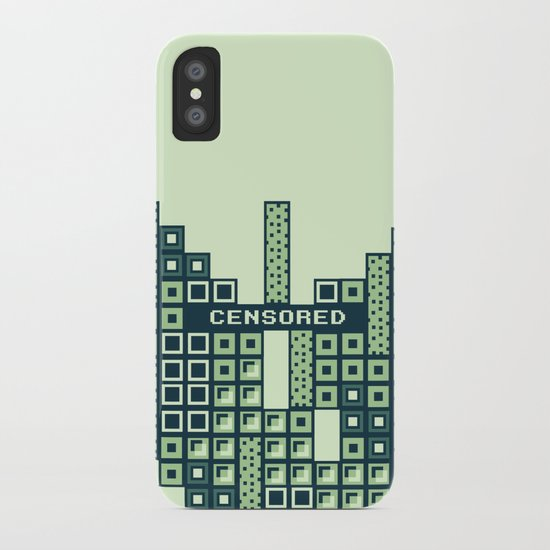 tantric tetris. iPhone Case