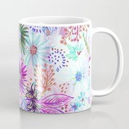 Eden Floral Multi White Coffee Mug