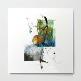 Side step Metal Print