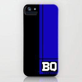 BQ - Flagging Navy Blue iPhone Case