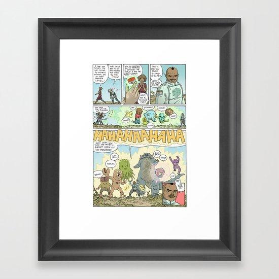 GAMMA page 7 Framed Art Print