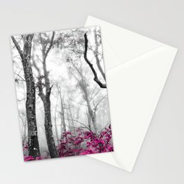 Princess Pink Forest Garden Stationery Cards