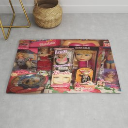 #BarbieLou with tomodachi  Rug