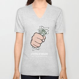 A Fistful Of Dollars - Alternative Movie Poster Unisex V-Neck