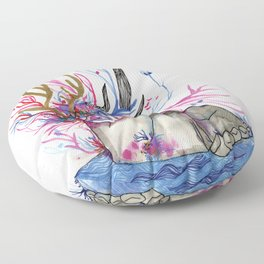 The nature woman Floor Pillow