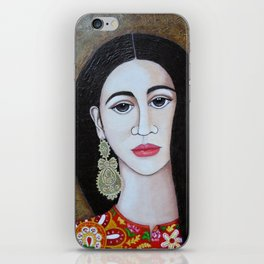 The Portuguese Earring 2 iPhone Skin